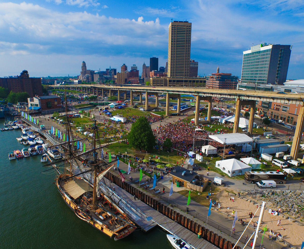 Canalside_Buffalo Aerial Pictures-w1500-h1000