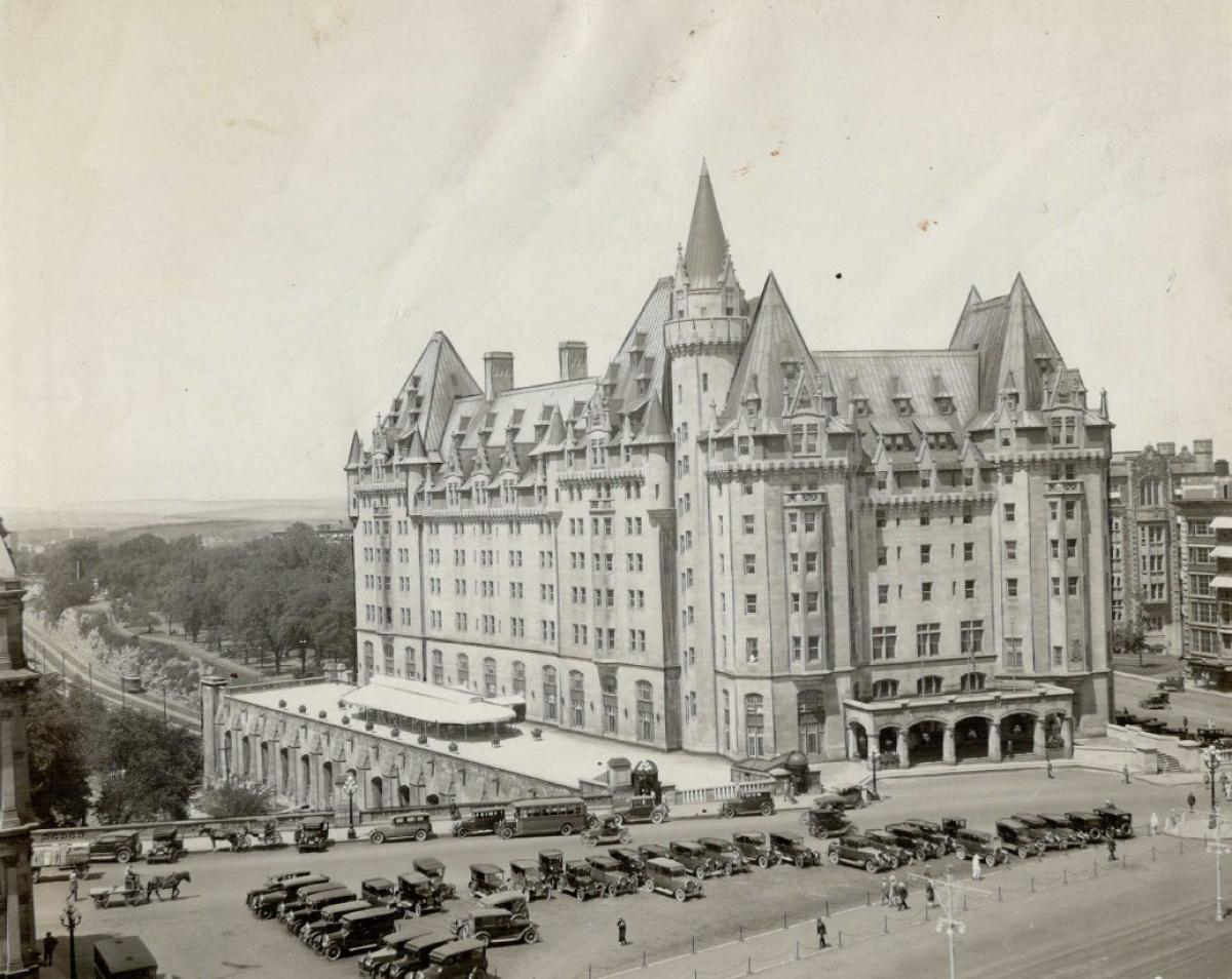 Chateau Laurier Hotel; Ottawa; Ontario C.N.R. Hotels